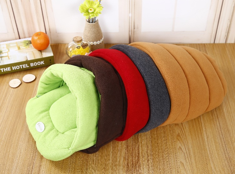 Shell Style Winter Warm Frenchie Bed