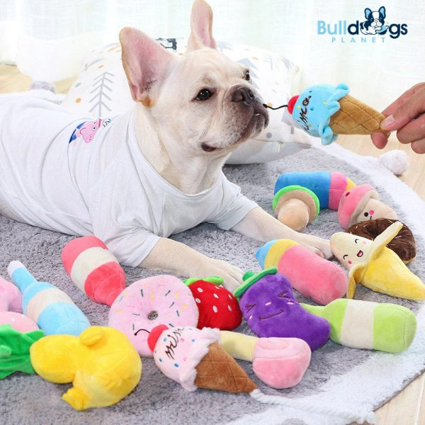 Plush Dog Toys for Puppy Chew