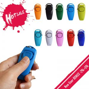2 In 1 Dog Whistle ClickerTrainer
