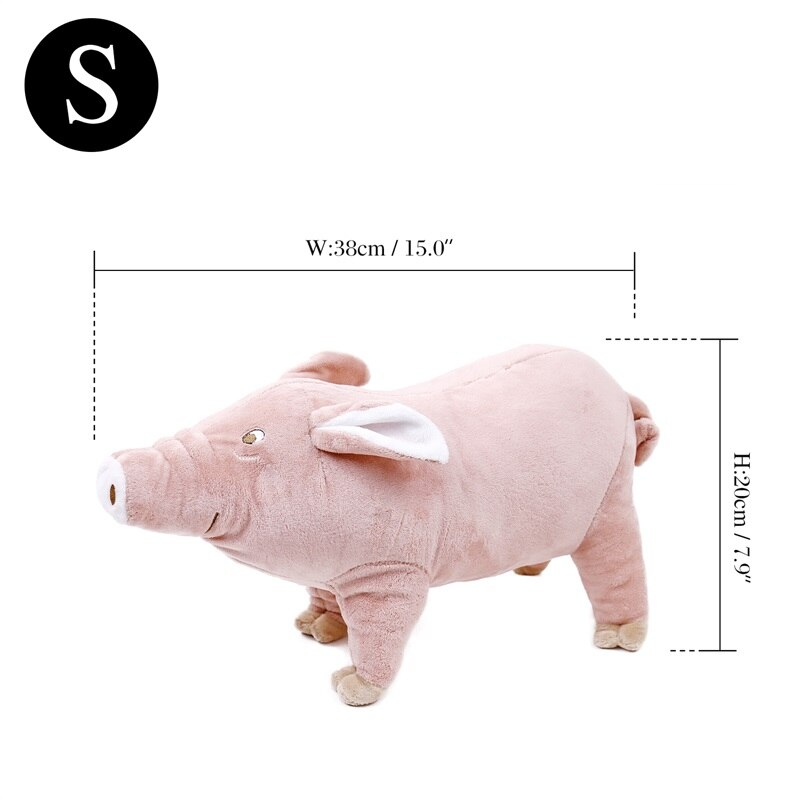 Soft Pig Shaped Toys for Dogs for Sleeping