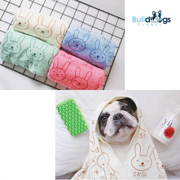 Special microfiber large strong suction pet towel